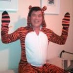 Congressman David Wu tiger suit