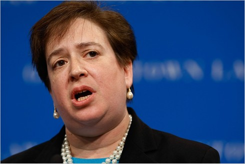 Supreme Court Justice Elena Kagan -- a reliable vote for homosexual marriage.