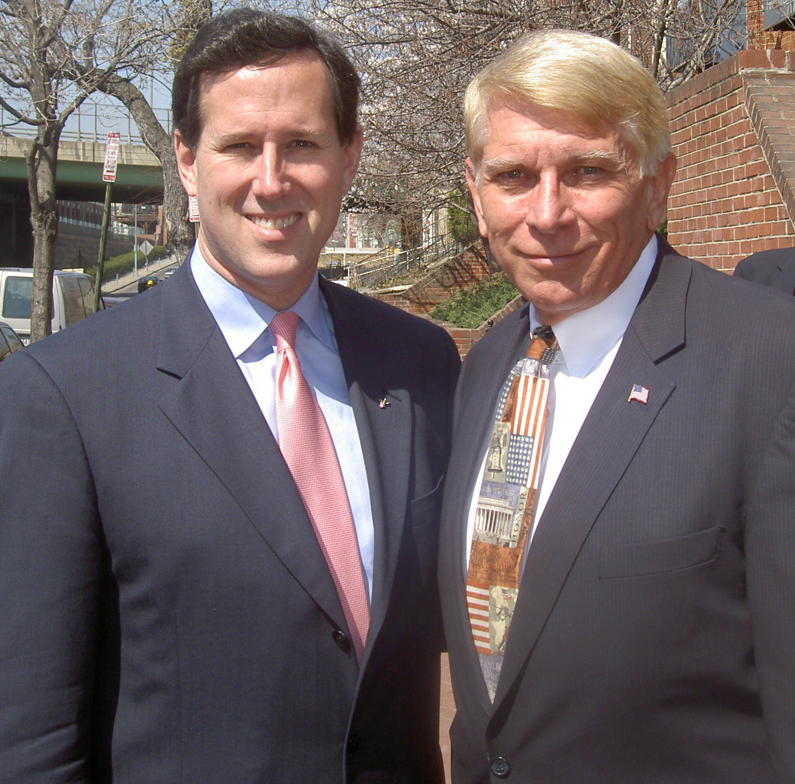 Rick Santorum and William J Murray