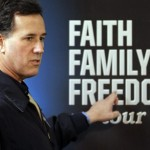 Rick Santorum faith family freedom