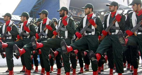 Iran's Revolutionary Guards.