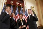 Congressman Jolly is sworn into office by the Speaker of the House