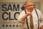 Senate candidate Sam Clovis, former Air Force fighter pilot.