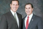 Gary Palmer and Rick Santorum.