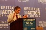 Congressman Jim Jordan (R-OH) at the Heritage Foundation summit.