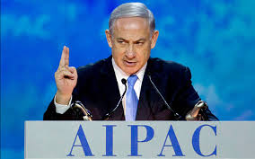 The leader of the free world at AIPAC this week.