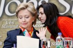 Clinton and her Muslim Brotherhood Princess Abedin.