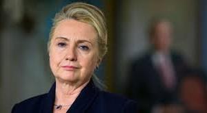 A smug Hillary Clinton.