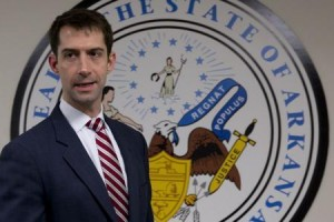 Senator Tom Cotton (R-AR).