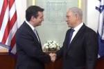 Texas Sen. Ted Cruz and Israeli P.M. Benjamin Netanyahu.
