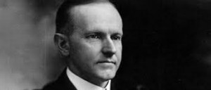 President Calvin Coolidge.