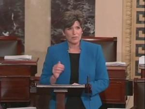 Senator Joni Ernst (R-IA).