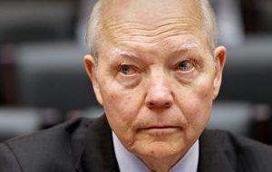 Obama's arrogant IRS Commissioner John Koskinen faces impeachment.