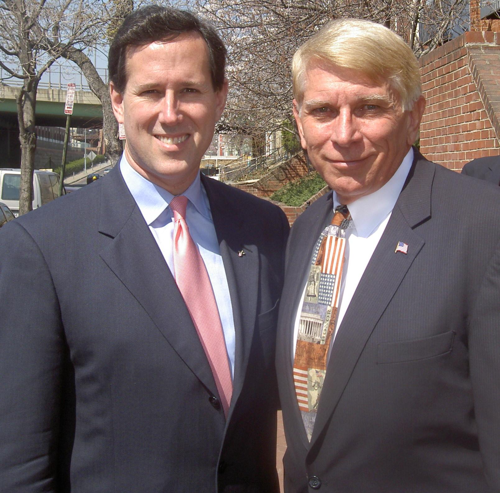 Rick Santorum and William J Murray