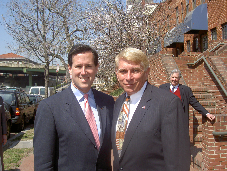 Rick Santorum and William J. Murray
