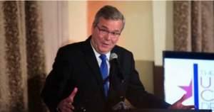 "Jeb Bush hires ""gay"" activist as his communications director."