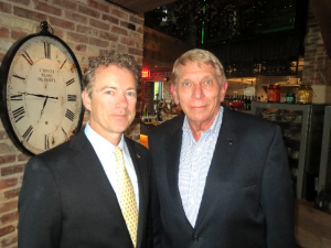 Senator Paul and GING-PAC chairman William Murray at a meeting in Washington, DC